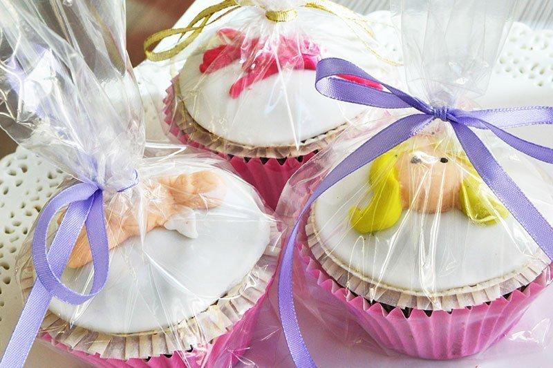 cupcakes από τα ζαχαροπλαστεία La Parfaite